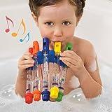 M Toys - Agua flautas silbidos música hojas musicales tiempo juguete relleno de siembra