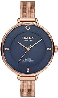 Omax Dress Watch For Women Analog Stainless Steel - 00FMB0146004