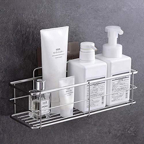 XCVB 304 roestvrijstalen badkamer plank rek douche cosmetische shampoo houder mand wandplanken badkamer