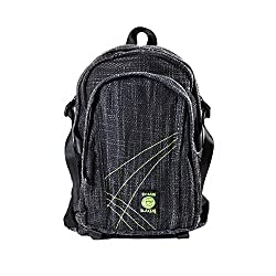 Best Hemp Backpack with Secret Stash Pocket and Smell Proof Pouch