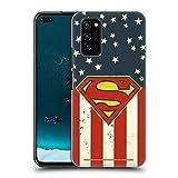 Head Case Designs Offizielle Superman DC Comics U.S. Fahne Logos Harte Rueckseiten Huelle kompatibel mit Honor V30 / Honor View 30