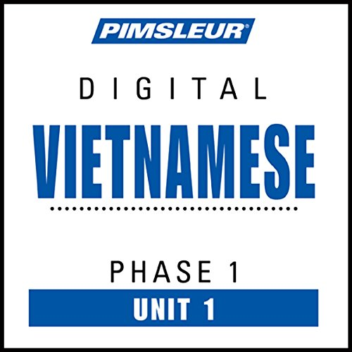 Vietnamese Phase 1, Unit 01 audiobook cover art