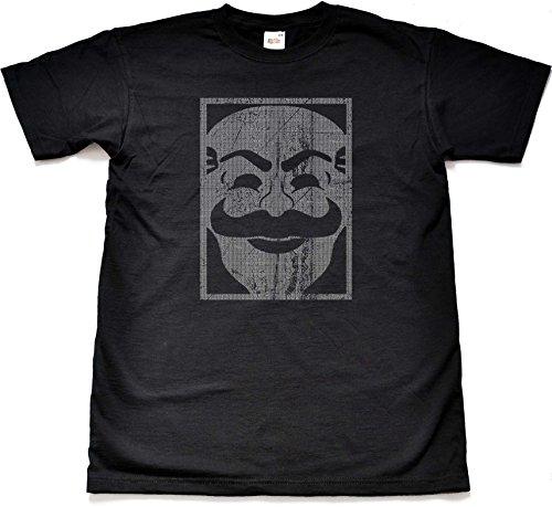 Teamzad - Camiseta - para Hombre Negro Negro Large