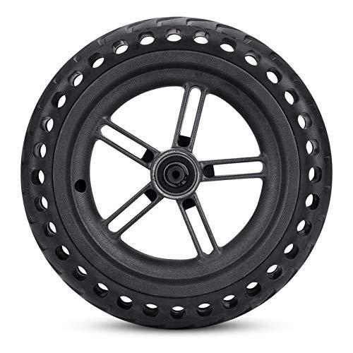 RiToEasysports Neumáticos sólidos de Repuesto, neumático sólido a Prueba de explosiones de Cubo de Rueda Trasera Compatible con el Scooter eléctrico Xiaomi M365