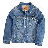 Levi's Boys' Little Denim Trucker Jacket, Washed Up, 6