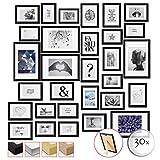 bomoe Set di 30 Cornici per foto Emotion - Cornici foto collage - collage portafoto -...