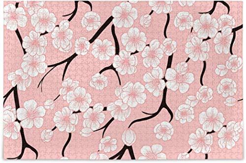 Rompecabezas para adultos 1000 - Cherry Blossoms Puzzles difíciles Piezas para tag2 tag1 Juegos de Puzzle