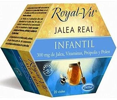 Royal Jelly, Royal-Vit 20 Vials of 300 mg Dietisa