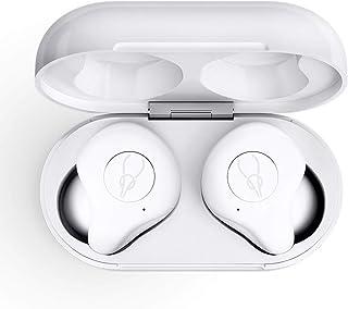 【Bluetooth5.0】 VENKIM ワイヤレス イヤホン ブルートゥース イヤホン マイク付き スポーツ ワイヤレス 高音質 完全ワイヤレスイヤホン 八時間連続音楽再生可能 Siri対応 iPhone/ipad/Android適用 技適認証取得 (白)