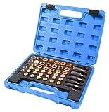 SLPRO® Kit 114attrezzi per riparazione filettatura auto, tappo di scarico dell'olio, coppa dell'olio, M13-M22
