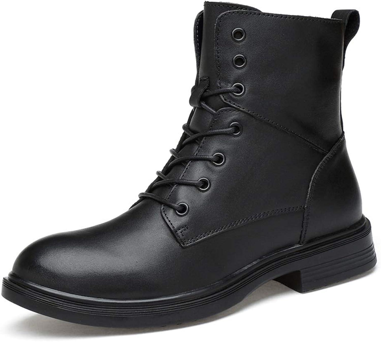 Ying xinguang Mid-Cold-Stiefel für Herren Casual und Simple Klassische High-Top-Anti-Rutsch-Wasserdichte Martin Stiefel B07MQ7PG98  | Räumungsverkauf