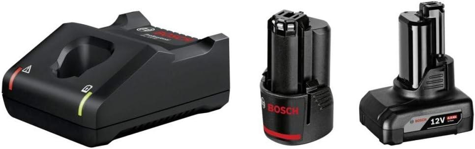 FengWings Batterie 12 V 4,0 Ah compatible avec Bosch GBA 12 V 4,0 Ah 1600Z0002Y 1607A3504B 1600z00045