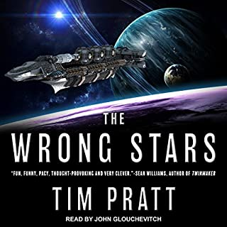 The Wrong Stars audiobook cover art