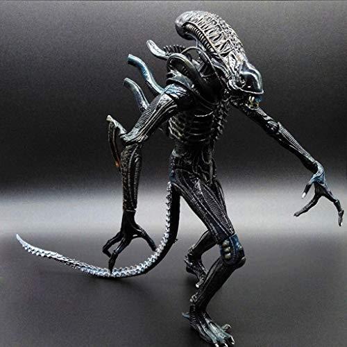 HOOPOO Figura Extranjero: 7 Pulgadas Escala Extranjero (Azul) La Figura de acción de la Serie del colector  for Aficionados Extranjeros de Aliens Vs Predator
