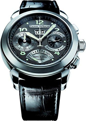 Pierre De Roche GrandCliff Reloj Retro Horas Hombre GRC10001ACI0-001CRO