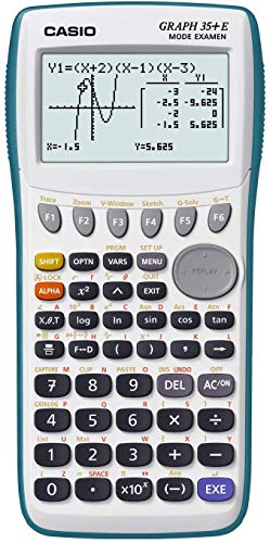Casio Graph 35+ E Calculatrice graphique USB avec mode...