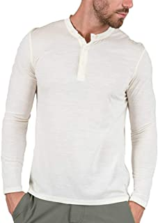 Men's Casual Slim Fit Convoy Henley Long Sleeve T-Shirts Cotton Henley Shirts T16