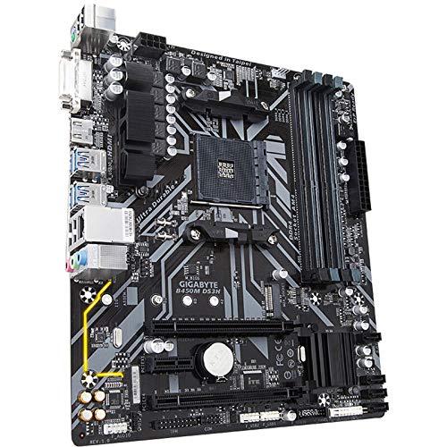 ATX Ịṇṭẹḷ B450M DS3H Motherboard Fit Gịgạbỵṭẹ Desktop Computer AM4 M-ATX Small Board DDR4 AMD SATA 3.0 USB 3.1Gen 1Type-A