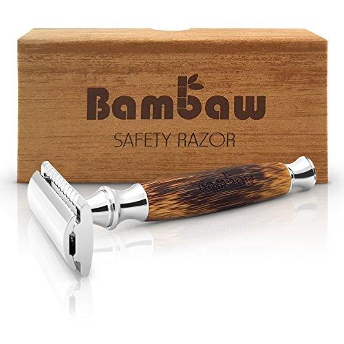 Rasoir de Sécurité avec Manche en Bambou |...