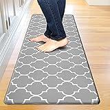 Kitchen Mat Cushioned Anti-Fatigue Floor Mat, Waterproof Non-Slip Kitchen Rug Standing Mat Ergonomic...