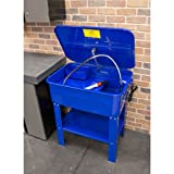 Eastwood 20 Gallon Parts Washer Cabinet Electric Solvent Pump Automotive Parts Washer Cleaner