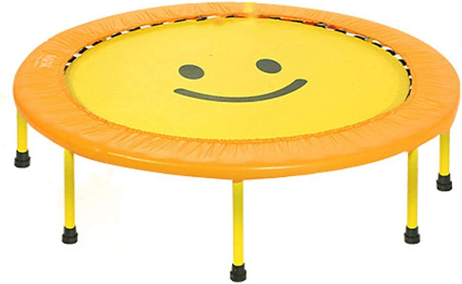 40-Inch Indoor Trampoline - Mini Trampoline - Round - Fitness Trampoline - Suitable For Home Use - Load Capacity Up To 150kg