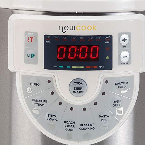 NEWCOOK Ollas a presión eléctricas
