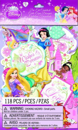 EK Success Disney Die-Cut Cardstock, Princess
