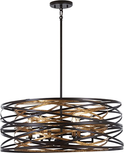 Minka Lavery Pendant Ceiling Lighting 4673-111 Vortic Flow,...