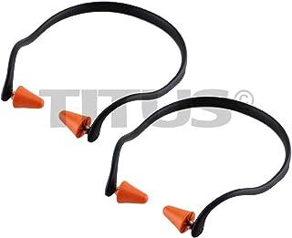 Titus U-Band - Over Ear Reuseable Banded Ear Plugs (25 Decibel, 2 Bands)