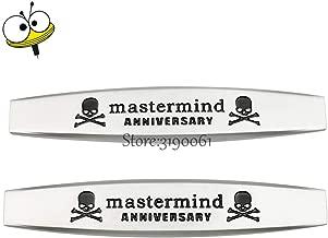 Car Stickers - Car Fender Sticker Emblem Badge Accessories For Mastermind Logo For Nissan Alfa Romeo SAAB Fiat Chevrolet Ford Benz Jaguar Opel ()
