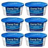 ASAB 6 x Dehumidifier Interior Damp Trap Humidity Mould Moisture Catcher Mildew Remover Prevents Condensation Bad Odours Caravan Home