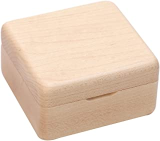Caja de música clásica de madera, regalo conciso de la caja musical del mecanismo de la manera para los amigos