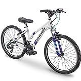 24' Royce Union RTT Womens 21-Speed Mountain Bike, Aluminum Frame, Trigger Shift, White