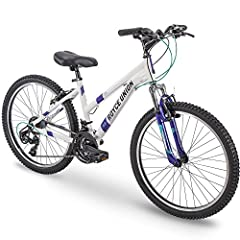 Assembly video under images; ready for adrenaline-soaked adventures; RTT features a lightweight, durable aluminum frame for easier handling on the trails and 21 speeds with smooth trigger shifting; radiant silver frame with gloss overcoat looks sharp...