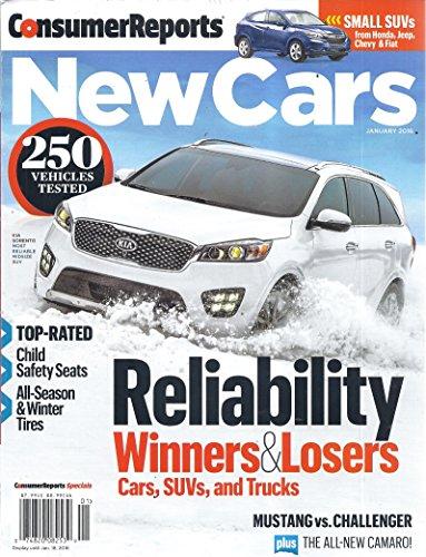 Consumer Reports New Cars (January 2016 - Kia Sorrento)