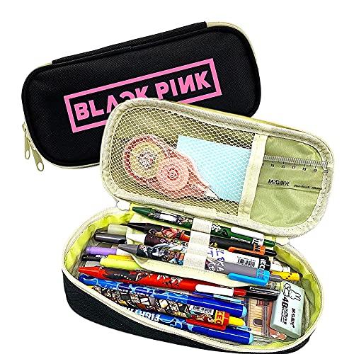 Estuche de Lápices Blackpink,Estuche Multifuncional con Cremallera, Bolsa de...