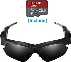 Camera Video Sunglasses,1080P Full HD Video Recording Camera,Shooting Camera..