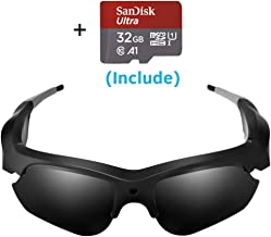 Camera Video Sunglasses,1080P Full HD Video Recording Camera,Shooting Camera..