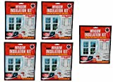 Weathershield Indoor Window Insulation Kit, Clear film that blocks out cold drafts, Fits