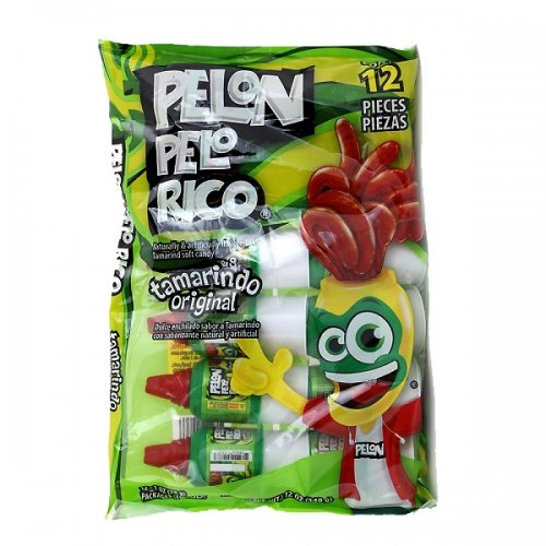 LA Crafts #21 of 34 Different Mexican Candy to Choose From for Parties, Pinatas, Halloween, and Other Events (Pelon Pelo Rico - 24 pcs)