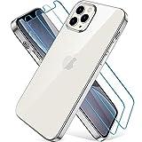Wiselead Hülle für iPhone 12,Hülle für iPhone 12 Pro - 6.1 Zoll Silber
