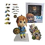 Zelda Figura 10 cm Zelda Skyward Espada Enlace Maestro Espada Lámpara Figura Acción Zelda Estatuilla...