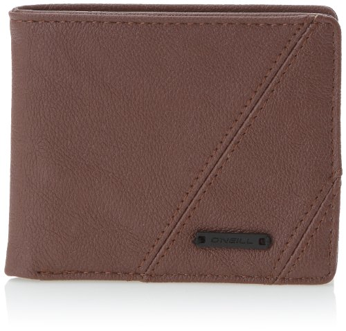 O\'NEILL AC Shred Wallet - Cartera para Hombre, Color marrón, Talla única