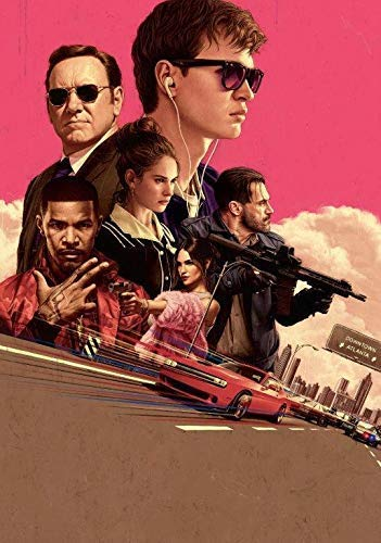 Desconocido Baby Driver Movie Póster Foto Película 2017 Edgar Wright Textless Brillo 002 (A5-A4-A3) - A4