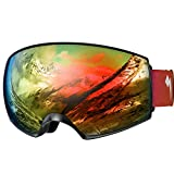 WhiteFang Ski Goggles PRO for Men Women & Youth, Over...