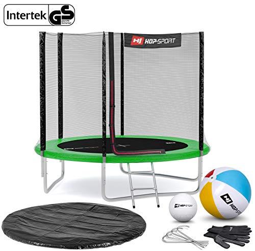 Hop-Sport Gartentrampolin Komplettset mit INTERTEK/GS Zertifikat