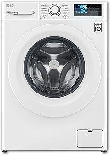 Bruni Skärmskydd är kompatibel med LG F14WM9EN0 Film, kristallklart Skyddsfilm (2X)