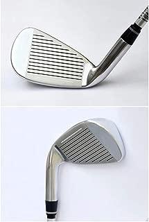 Tuuertge Golf Driver Outdoor Sport Golf Putter Golf Club Beginner Set Irons Set 4/5/6/8/9/p/s Practice Iron Long Iron Short Iron Men's Iron Set (Color : Steel Rod, Size : 6)