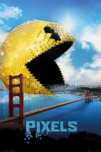 empireposter - Pixels - Pacman - Größe (cm), ca. 61x91,5 - Poster, NEU -